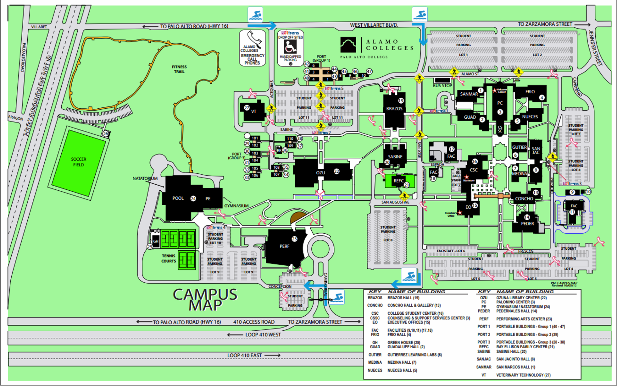 South Texas College Campus Map.Maps